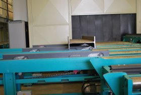 CONNECTION TO STEEL ROLLER CONVEYOR