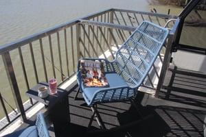 Upstairs rocking chairs
