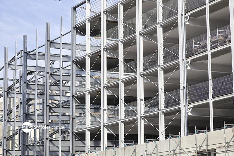 steel-building-frame